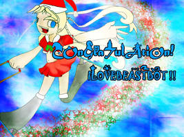CONGRATULATIONS by cartoonfanatics