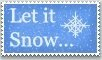 Stamp: Let it Snow... by emerlyrose