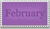 Stamp: February by emerlyrose