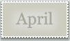 Stamp: April by emerlyrose