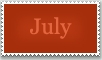 Stamp: July by emerlyrose