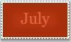 Stamp: July by emerlyrose