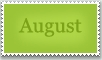 Stamp: August by emerlyrose