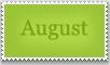 Stamp: August by emerlyrose