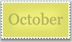 Stamp: October by emerlyrose