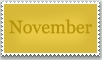 Stamp: November by emerlyrose