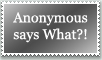 Stamp: Anonymous by emerlyrose
