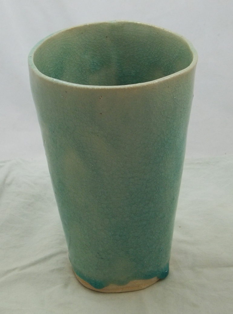 Ice Blue Vase by emerlyrose