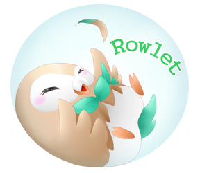 PK - New starter pokemon : Rowlet! by cyndaquil1998