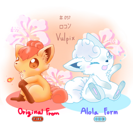 PK - New Form Vulpix! by cyndaquil1998