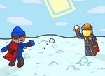 [Request] Frosty and Derlus playing with snow