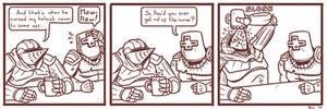 [Comic] A Knight's Curse