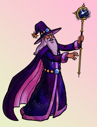 [Commission] Cosmic Wizard