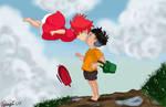 Ponyo first kiss