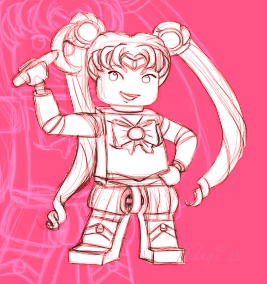 Lego Sailor Moon