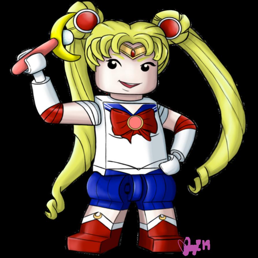 Legolized Sailor Moon