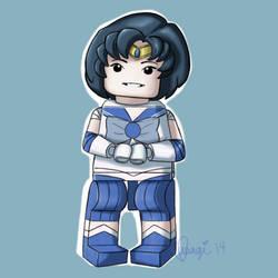 Legolized Sailor Mercury