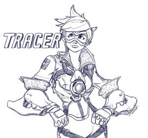 Overwatch Tracer Doodle
