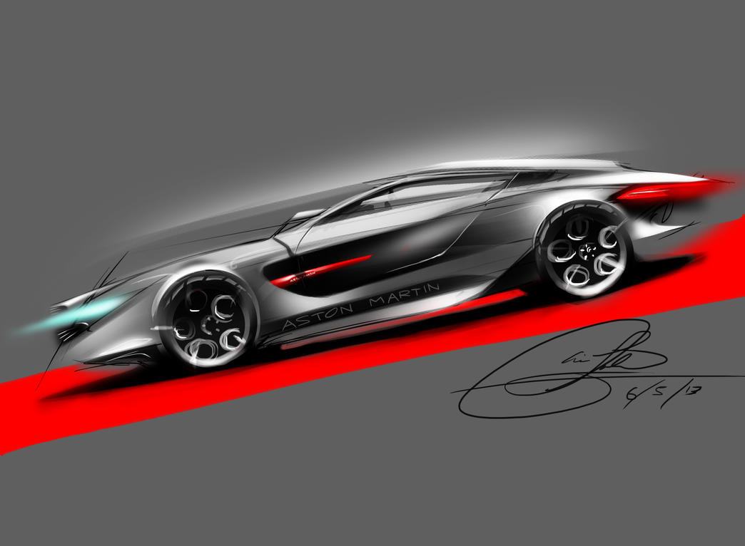 aston martin design. by chrislah294