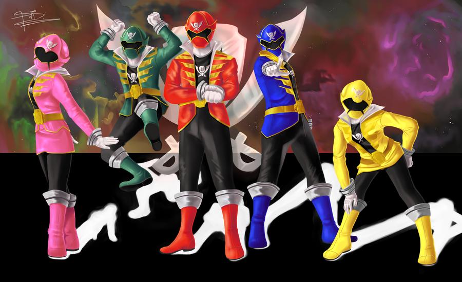Kaizoku Sentai Gokaiger 2 by sdmarquez