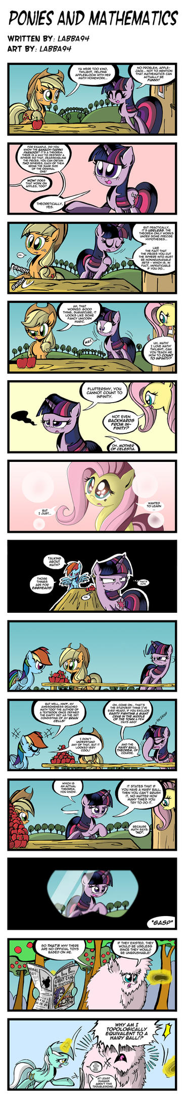 Ponies and Mathematics by labba94