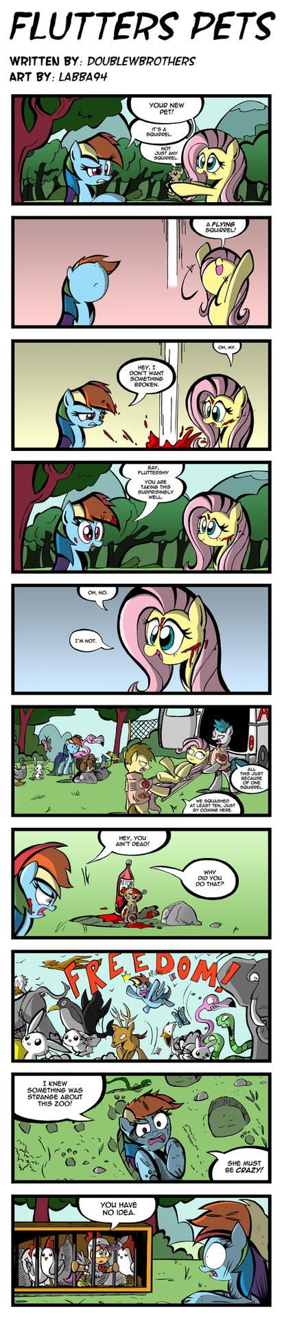 Flutters Pets by labba94