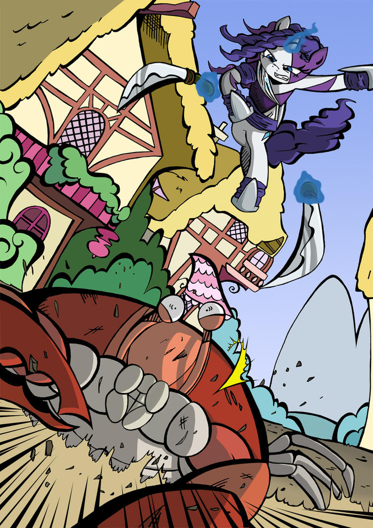 Fight Like a Crustacean! by labba94