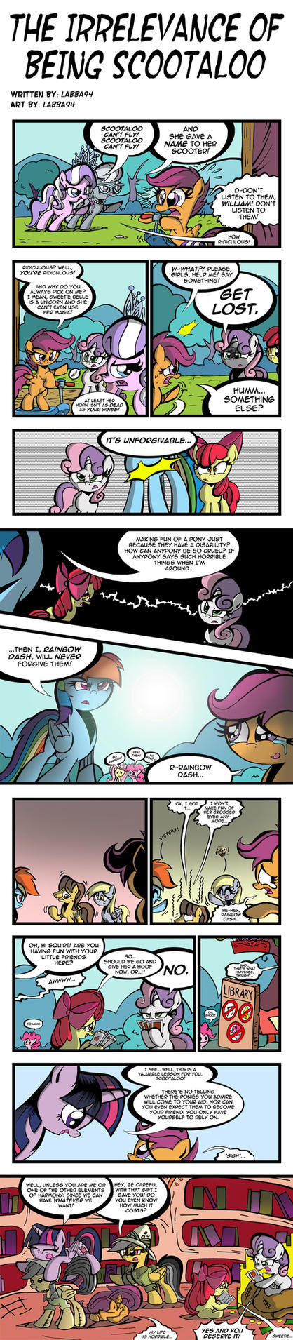 The Irrelevance of Being Scootaloo by labba94