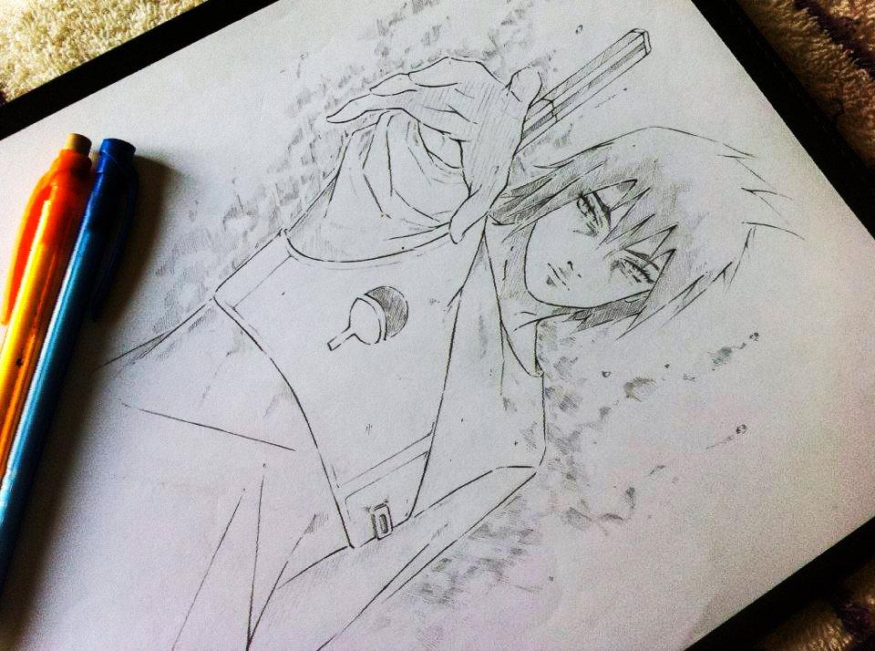 Uchiha Sasuke by Virgilio-XyZ