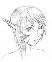 Wild Elf by bluebrian200x