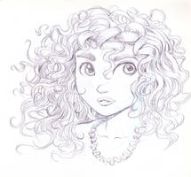 Princess Merida from Brave by bluebrian200x