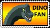 Dino Fan Stamp by W0LFSHIELD