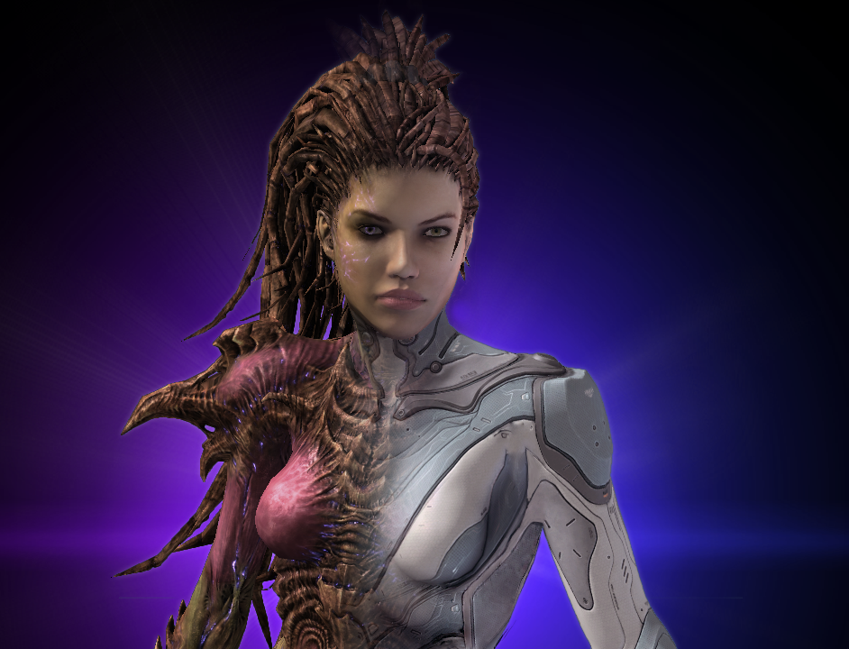 Queen Of Blades Sarah Kerrigan By Alianys On Deviantart