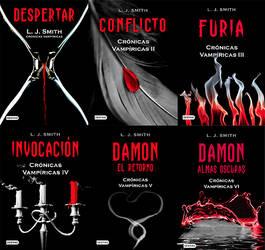 + Saga The Vampires Diaries (Libros PDF) by DreamsPacks