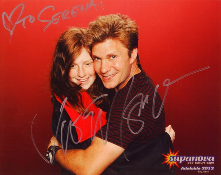 Me and Vic Mignogna by ShioroxDeidara