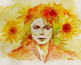 Happy 56th Birthday -Autumn Sunflower- by Maikomittsu