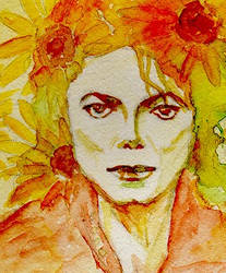 Happy 56th Birthday -Autumn Sunflower-2 by Maikomittsu