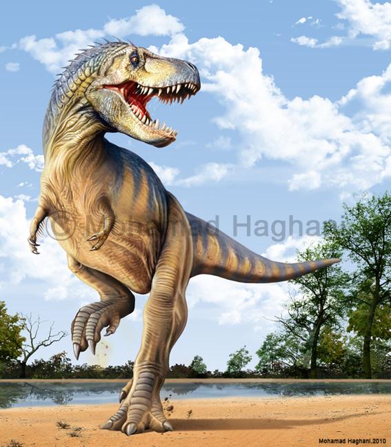 Tyrannosaurus rex by haghani