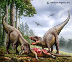 Carcharodontosaurus by haghani
