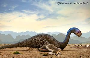 Gigantoraptor by haghani