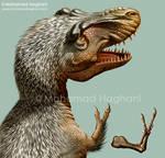 Tyrannosaurus rex Arm skeleton