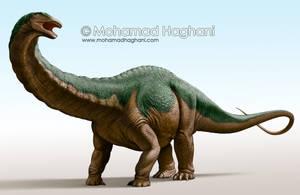 Apatosaurus louisae by haghani