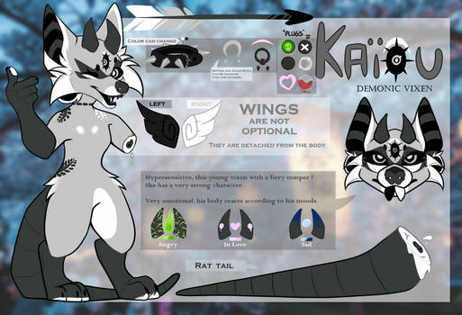 Reference Sheet - Kaiou