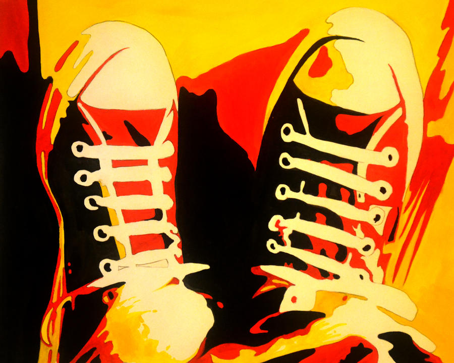 Converse Pop Art Shoes