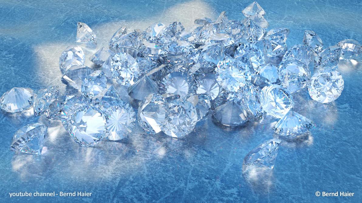 Diamonds on Ice by Bernd-Haier
