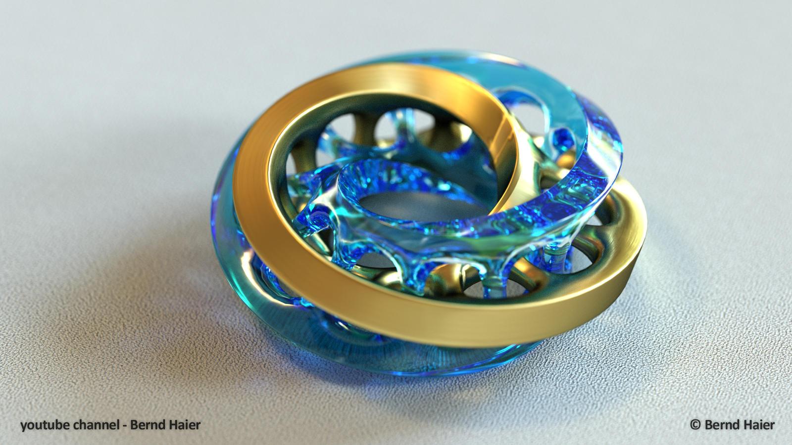 jewelry design part 2 (moebius ring part 1) mat 3 by Bernd ...