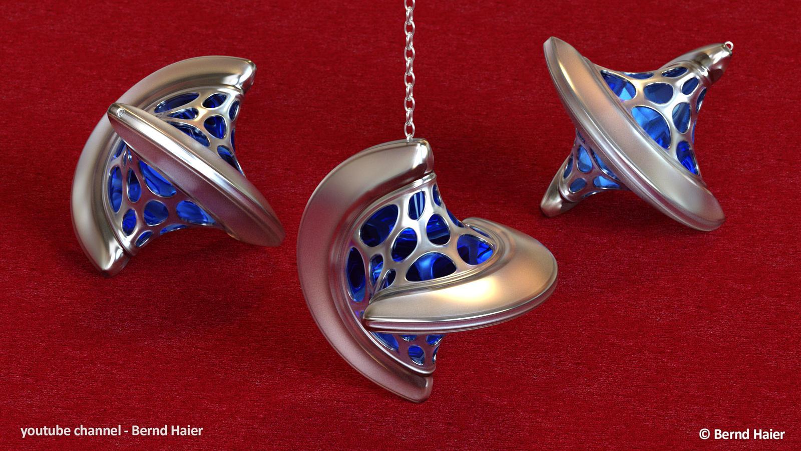 jewelry design part 9 pendant part 2 mat 8 by Bernd-Haier