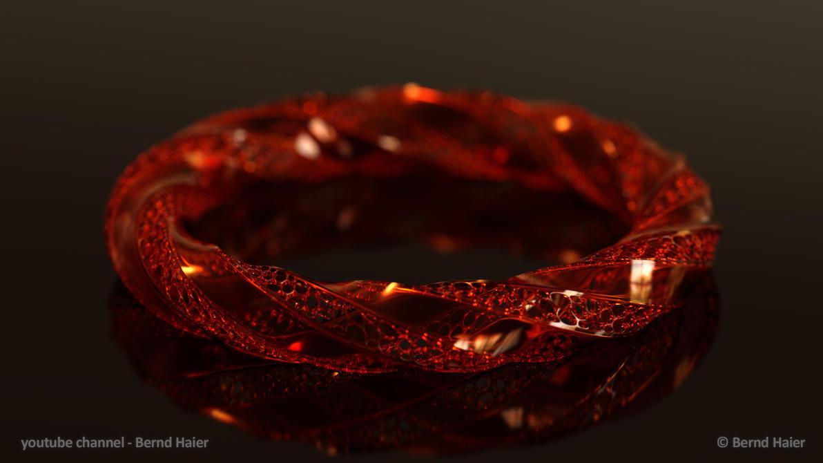 jewelry design part 11 bracelet part 4b Iray mat3 by Bernd-Haier
