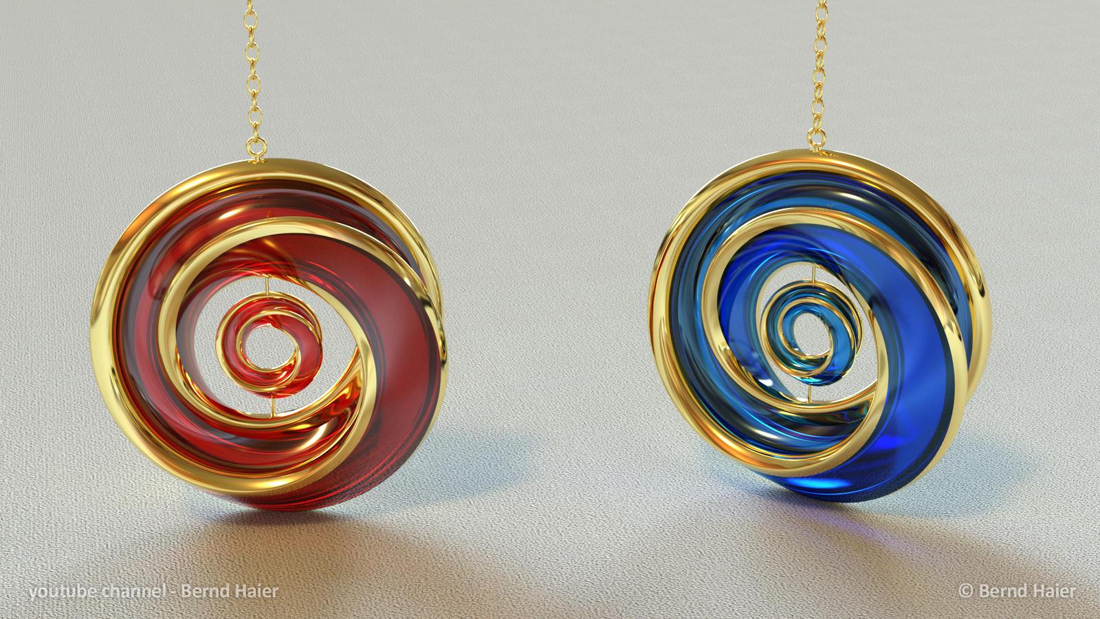 jewelry design part 13  pendant part 4  mat 3 by Bernd-Haier