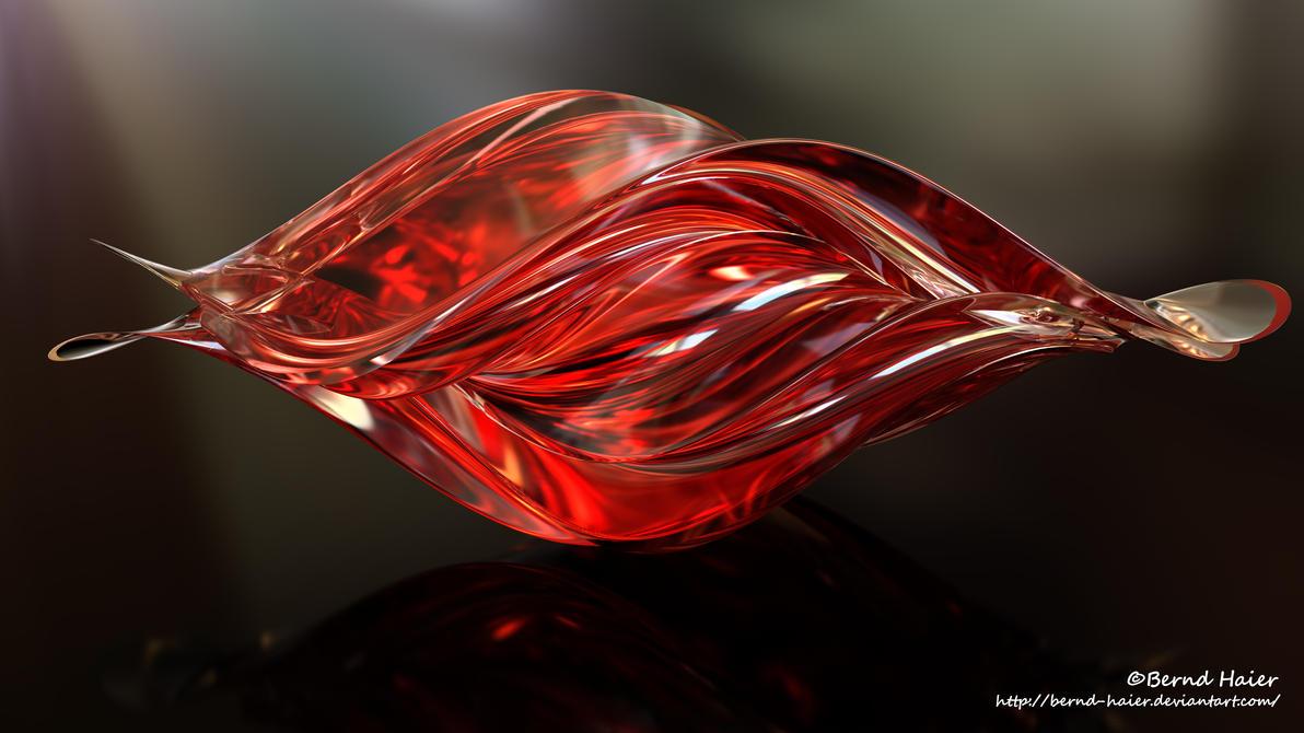 Box transformed into a sculpture / jewelery mat 15 by Bernd-Haier